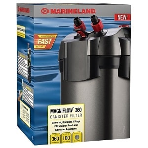 marineland Vs FluvalFX6 canister filtration