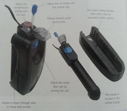heating aqaurium